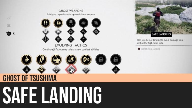 Ghost of Tsushima: Safe Landing