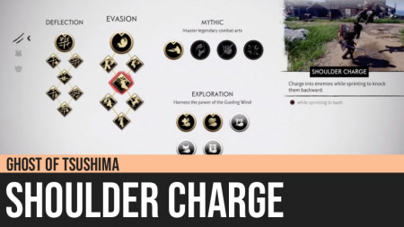 Ghost of Tsushima: Shoulder Charge