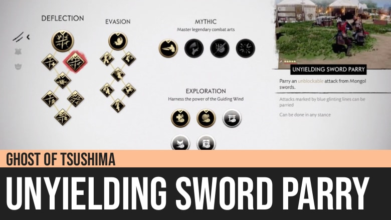 Ghost of Tsushima: Unyielding Sword Parry