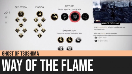 Ghost of Tsushima: Way of the Flame