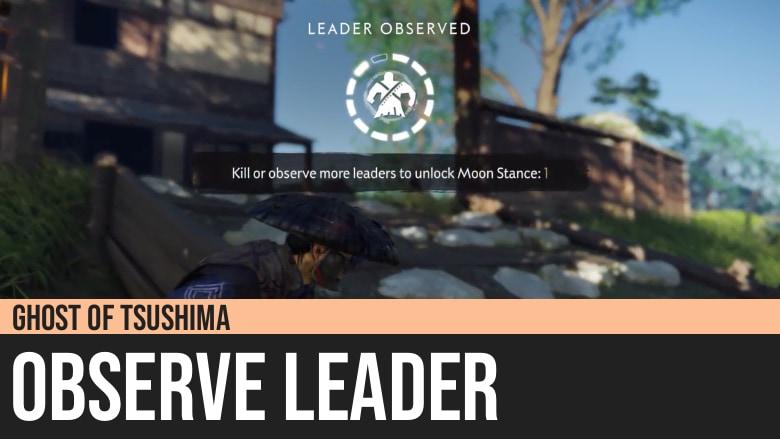 Ghost of Tsushima: Observe Leader