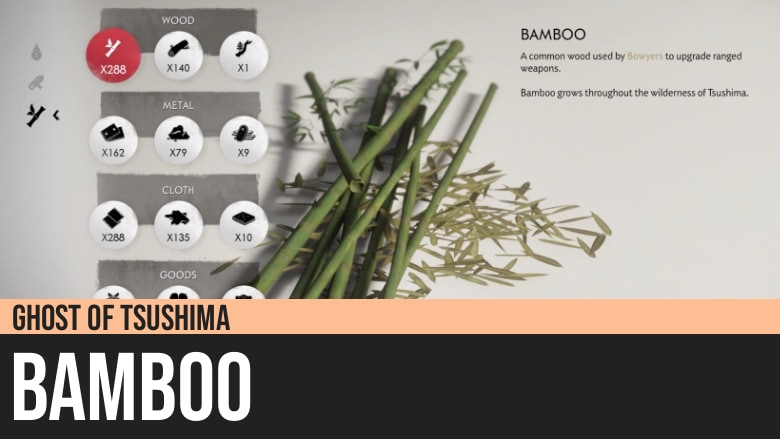 Ghost of Tsushima: Bamboo