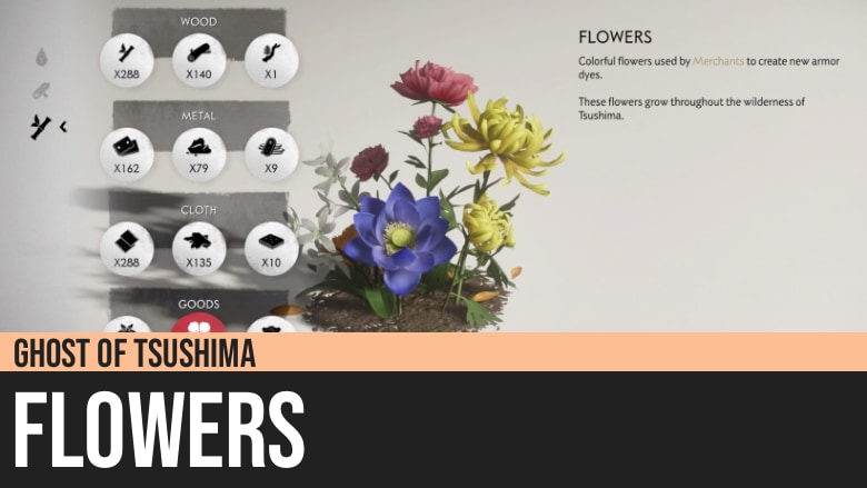 Ghost of Tsushima: Flowers