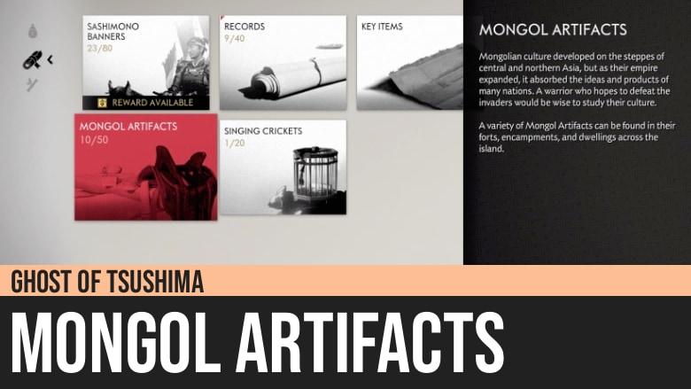 Ghost of Tsushima: Mongol Artifacts