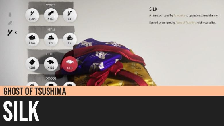 Ghost of Tsushima: Silk