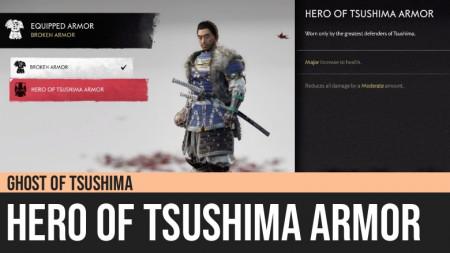 Ghost of Tsushima: Hero of Tsushima Armor