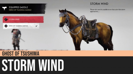 Ghost of Tsushima: Storm Wind