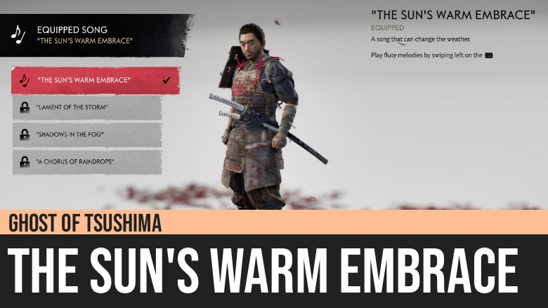 Ghost of Tsushima: The Sun's Warm Embrace