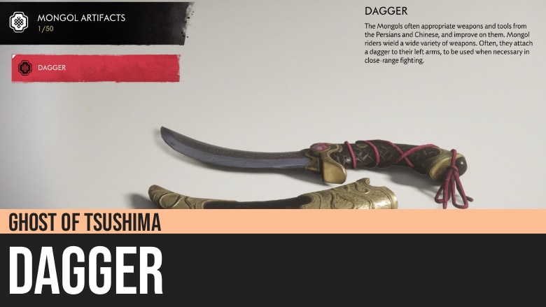 Ghost of Tsushima: Dagger