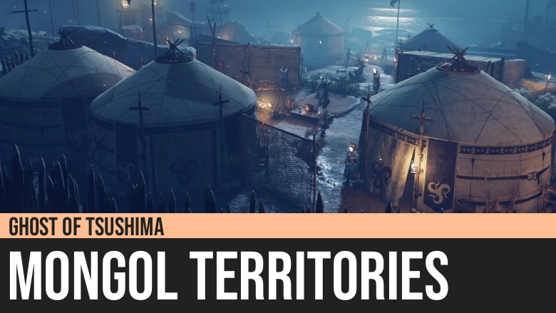 Ghost of Tsushima: Frozen Forest Crossroads