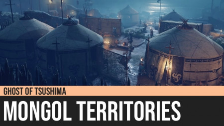 Ghost of Tsushima: Mongol Territories