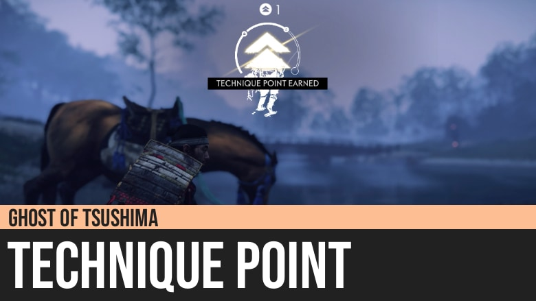 Ghost of Tsushima: Technique Point
