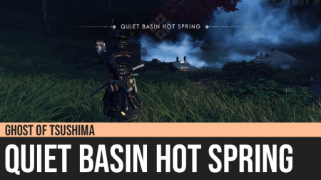 Ghost of Tsushima: Quiet Basin Hot Spring
