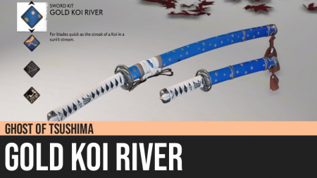 Ghost of Tsushima: Gold Koi River