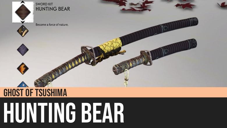 Ghost of Tsushima: Hunting Bear