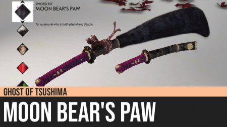 Ghost of Tsushima: Moon Bear's Paw