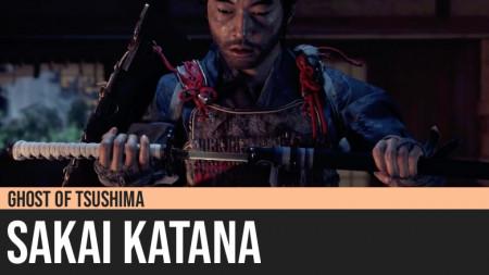 Ghost of Tsushima: Sakai Katana