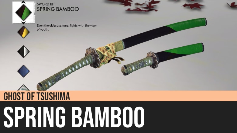 Ghost of Tsushima: Spring Bamboo