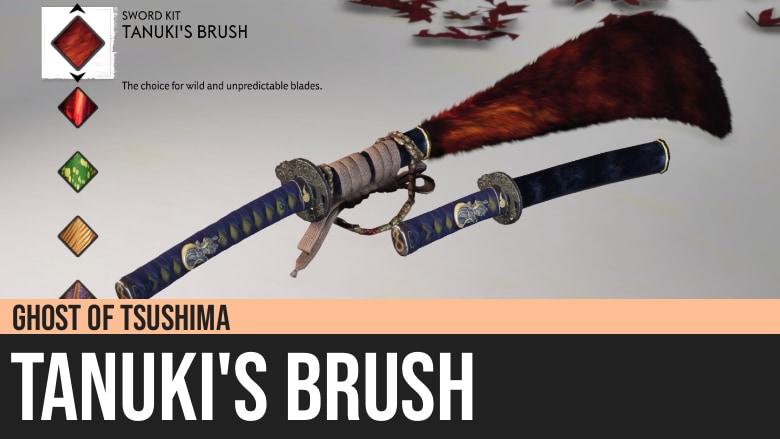 Ghost of Tsushima: Tanuki's Brush
