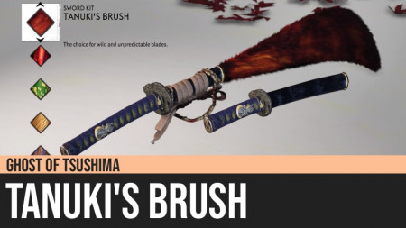 Ghost of Tsushima: Tanuki's Brush
