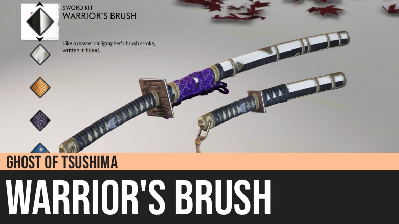 Ghost of Tsushima: Warrior's Brush
