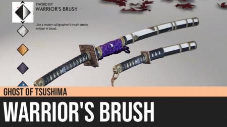 Ghost of Tsushima: Warrior's Brush