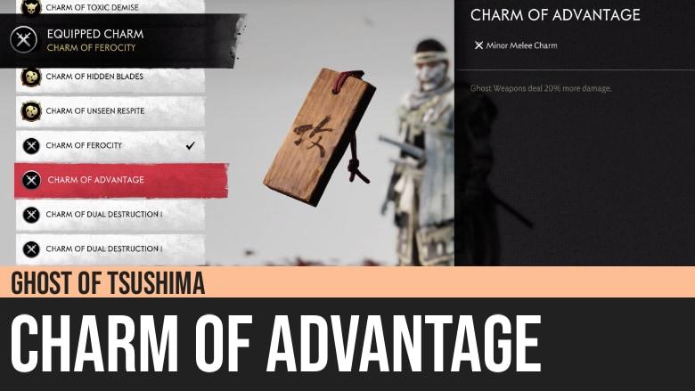 Ghost of Tsushima: Charm of Advantage
