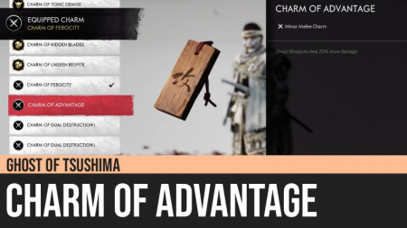 Ghost of Tsushima: Charm of Advantage