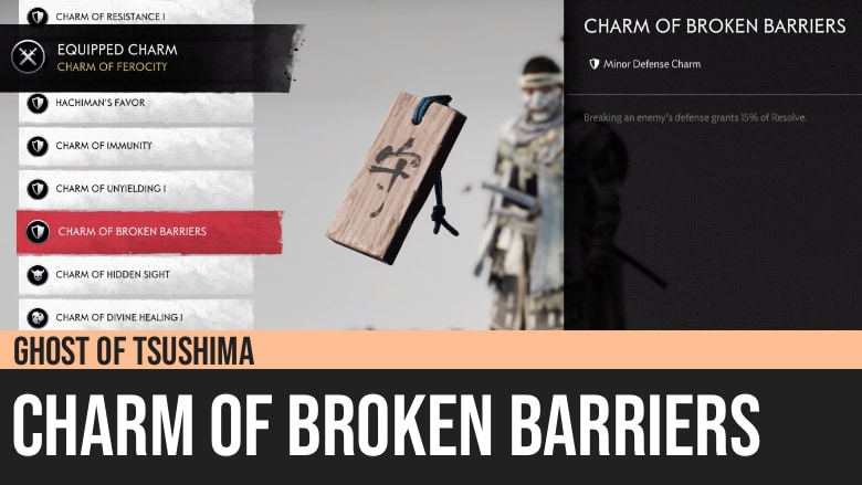 Ghost of Tsushima: Charm of Broken Barriers