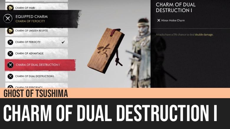 Ghost of Tsushima: Charm of Dual Destruction I