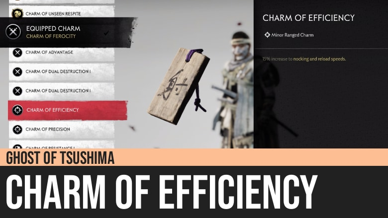 Ghost of Tsushima: Charm of Efficiency