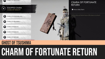Ghost of Tsushima: Charm of Fortunate Return