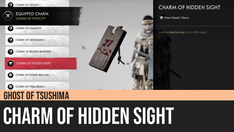 Ghost of Tsushima: Charm of Hidden Sight