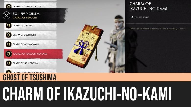 Ghost of Tsushima: Charm of Ikazuchi-No-Kami