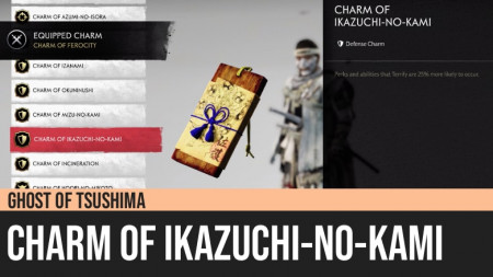 Ghost of Tsushima: Charm of Ikazuchi-No-Kami