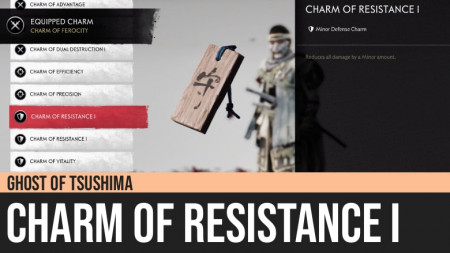Ghost of Tsushima: Charm of Resistance I