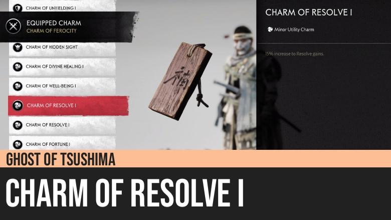 Ghost of Tsushima: Charm of Resolve I