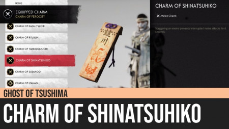 Ghost of Tsushima: Charm of Shinatsuhiko