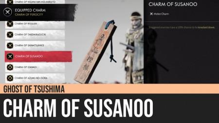 Ghost of Tsushima: Charm of Susanoo