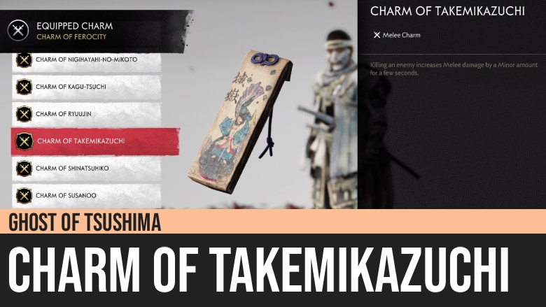 Ghost of Tsushima: Charm of Takemikazuchi