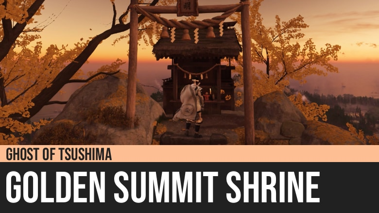 Ghost of Tsushima: Golden Summit Shrine