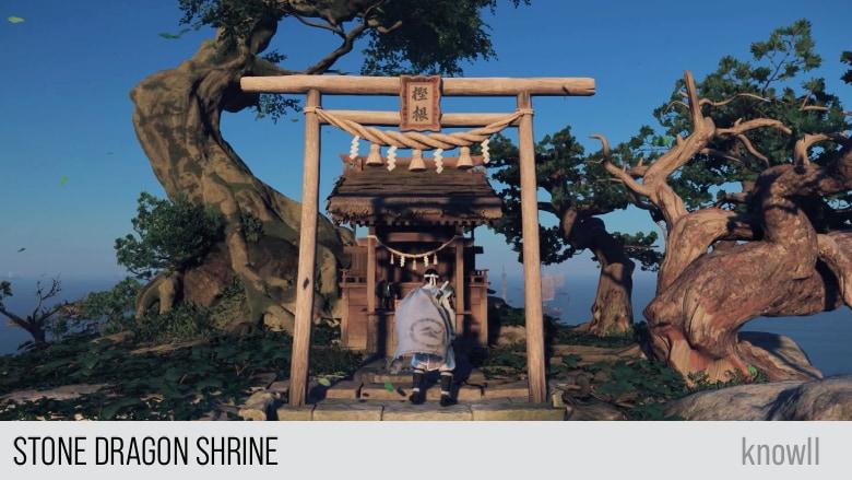 Ghost of Tsushima: Stone Dragon Shrine