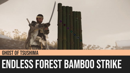 Ghost of Tsushima: Endless Forest Bamboo Strike