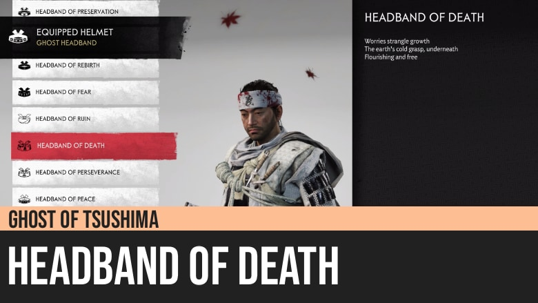 Ghost of Tsushima: Headband of Death