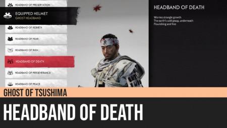 Ghost of Tsushima: Headband of Death