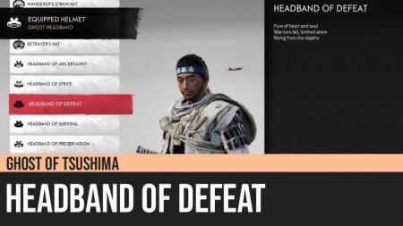 Ghost of Tsushima: Headband of Defeat