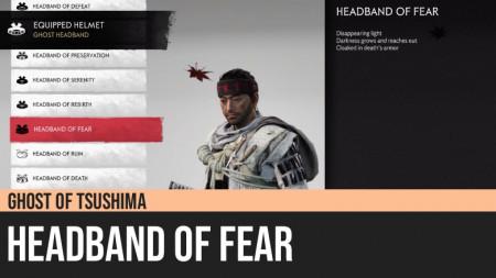 Ghost of Tsushima: Headband of Fear