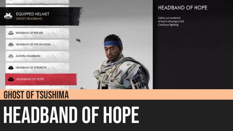 Ghost of Tsushima: Headband of Hope