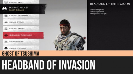 Ghost of Tsushima: Headband of the Invasion