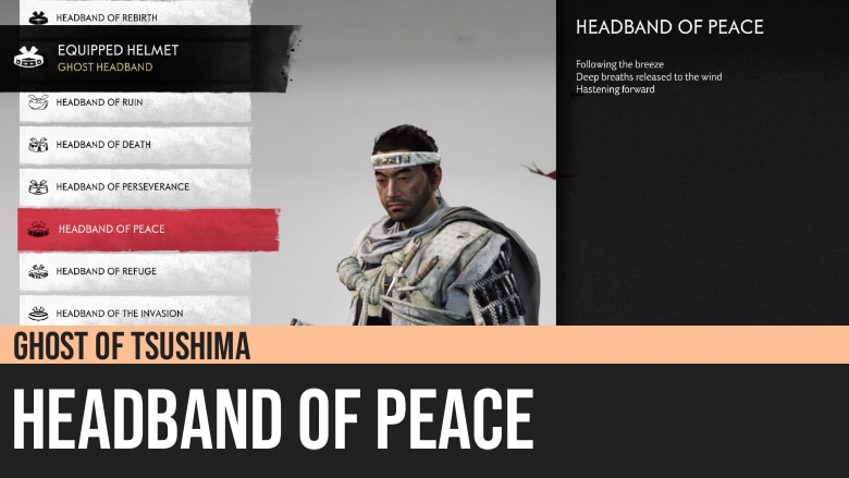 Ghost of Tsushima: Headband of Peace
